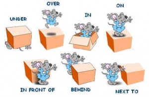 prepositions of position