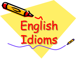 Useful-English-Idioms