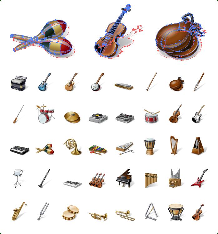 Ingilizce Müzik Aletleri Resimli Testi